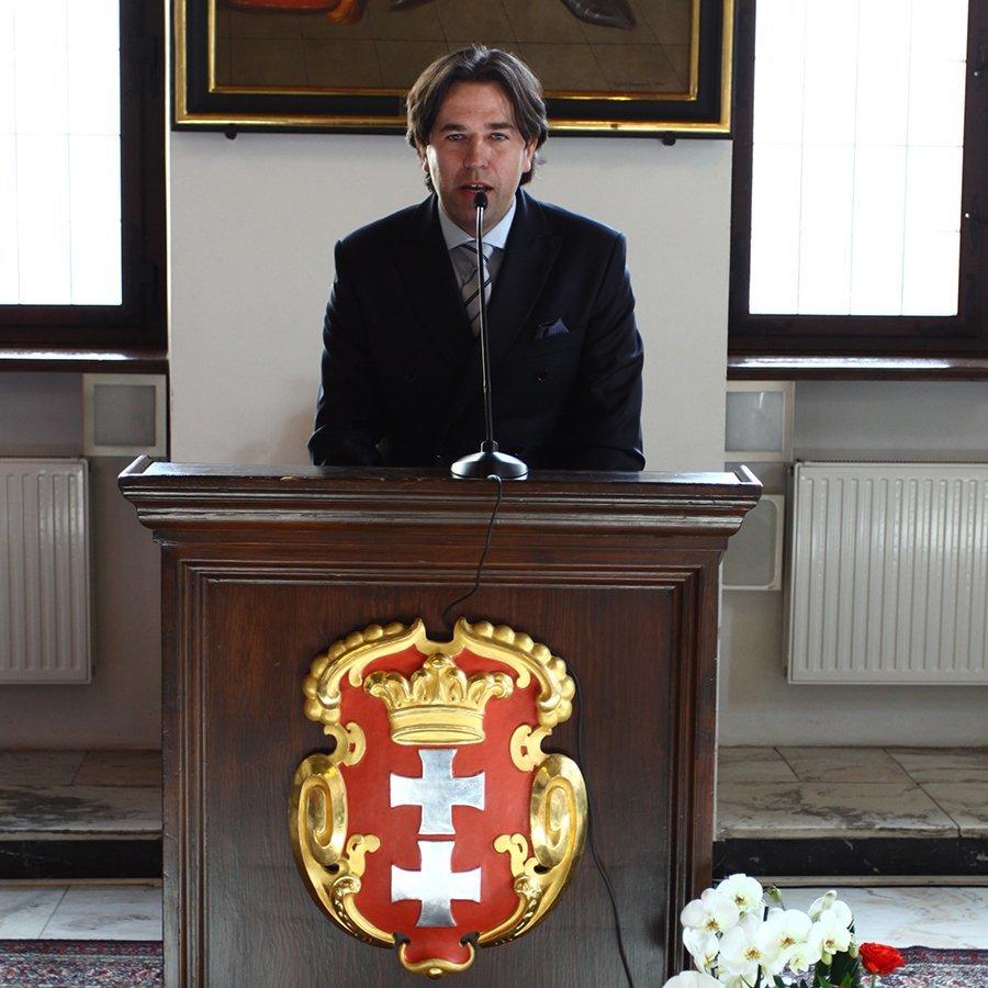 Feierliche Eröffnung des Österreichischen Konsulats in Danzig